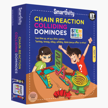 Smartivity Chain Reaction Colliding Dominoes Playset