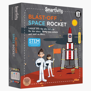 Blast-Off Space Rocket Play Kit
