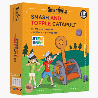 Smartivity Smash and Topple Catapult Playset