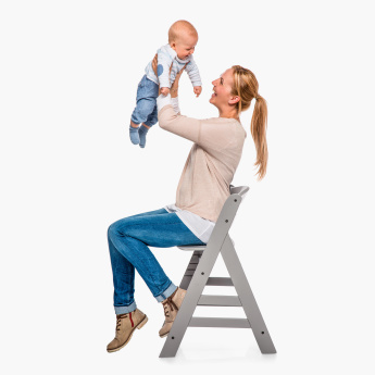 hauck Alpha+ B Wooden Highchair