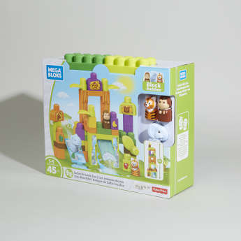 Fisher-Price Mega Blocks Safari Friends Playset