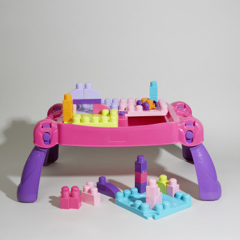 Mega Bloks Build N' Learn Table Blocks Set