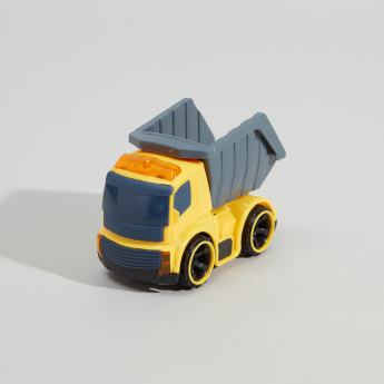 Construction Friction Toy Car with Light and Music