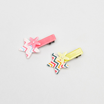 Charmz Star Embellished Hair Clips – Set of 2