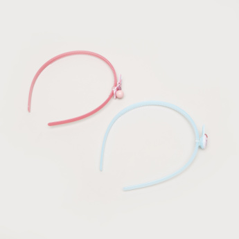 Charmz Embellished Hair Bands - Set of 2