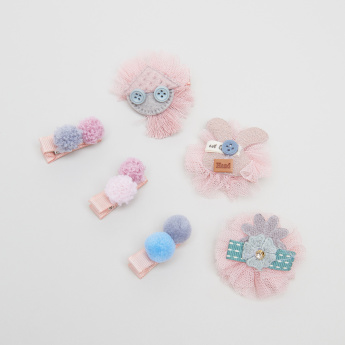 Charmz Hair Clip - Set of 6