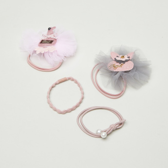 Charmz Hair Tie - Set of 4