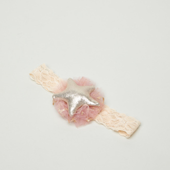 Charmz Embellished Soft Hair Band