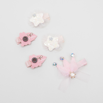 Charmz Assorted Hair Clip - Set of 5