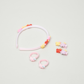 Charmz Butterfly Applique Detail 5-Piece Hair Accessory Set