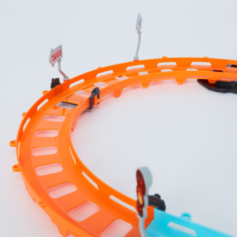 Tumbling Racing Track with Lights and Sound - 48 Pieces