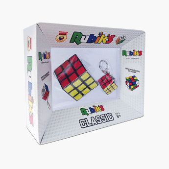 Rubik's Cube with Key Ring