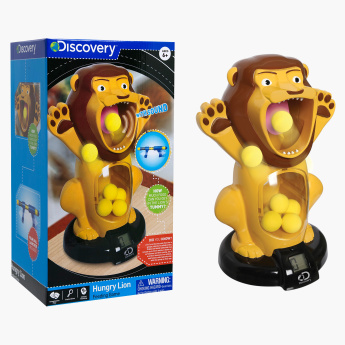 Discovery Hungry Lion Shooting Game with Sound