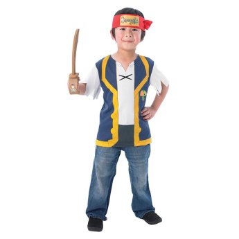 Rubies Jake the Pirate 3-Piece Costume Set