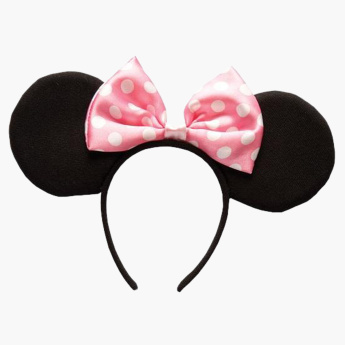 Rubies Minne Mouse Ear Applique Hair Band