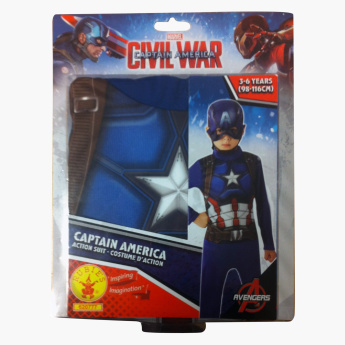 Rubie's Avengers Captain America Action Suit with Mask