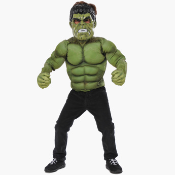 Rubies Hulk Top Costume Set