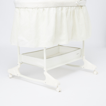 Giggles 2-in-1 Mobile Baby Bassinet