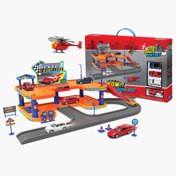 Welly Garage Playset