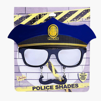 Sun-Staches Police Sunglasses
