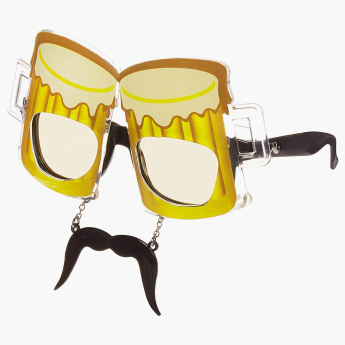 Sun-Staches Beer Sunglasses