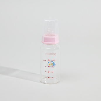 Bebecom Printed Feeding Bottle - 125 ml