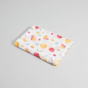 Little Unicorn Deluxe Swaddle Printed Blanket