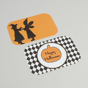Yubo Happy Halloween Printed Face Plate - Set of 2