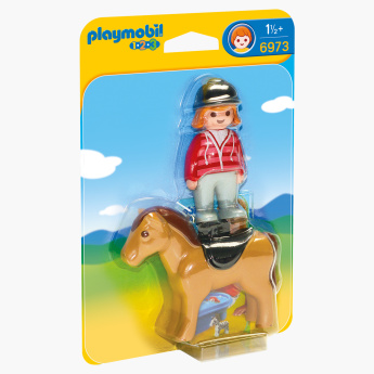 Playmobil Equestrian with Horse Playset