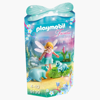 Playmobil Fairy Girl with Racoons Playset