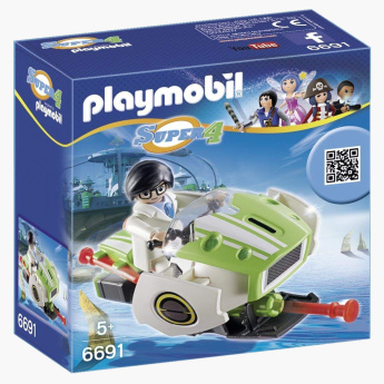 Playmobil Super 4 Skyjet Playset