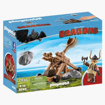 Playmobil Gobber with Catapult Playset