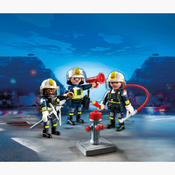 Playmobil Fire Rescue Crew Playset