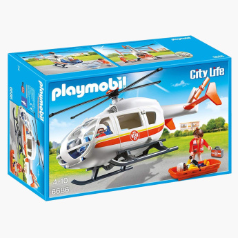 Playmobil Emergency Medical Helicopter Playset
