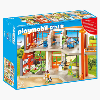 Playmobil Furnished Children's Hospital Playset