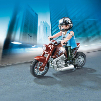 Playmobil Muscle Bike Toy