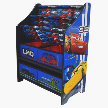Delta Cars Printed Book and Toy Organiser