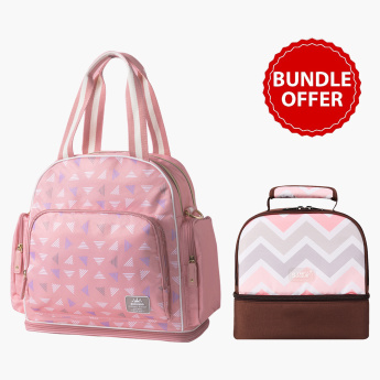 Sunveno Signature Diaper and Printed Insulated Bag Bundle Offer
