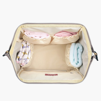Sunveno Embroidered Diaper Bag Bundle Offer