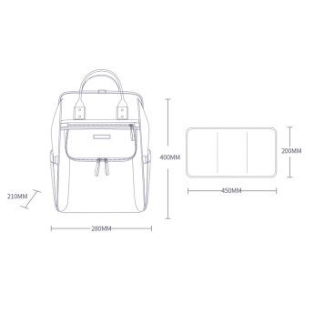 Sunveno Diaper Bag and Insulated Bag Bundle Offer
