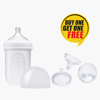 Boon Feeding Pouch Bottle with Free Teats
