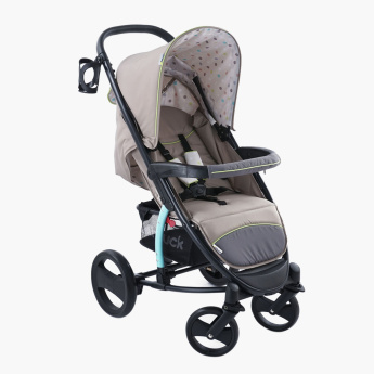 hauck Printed Malibu XL Plus SND Travel System with Bag