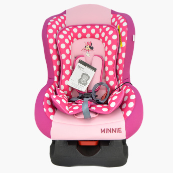 Minnie Mouse Printed Convertible Car Seat