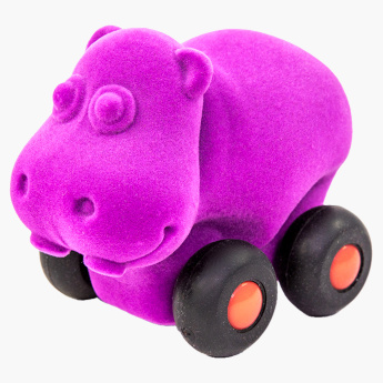 Rubbabu Aniwheelies  Hippo Toy - Small
