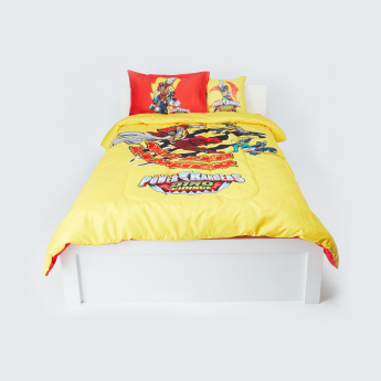 Power Rangers 4-Piece Comforter Set