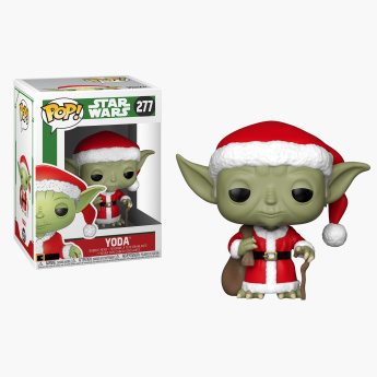 Funko Pop! Star Wars Holiday - Santa Yoda