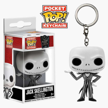 Funko Pop! Nightmare before Christmas Pocket Keychain – Jack Skellington