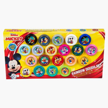 Mickey & Friends Rainbow Dough Set