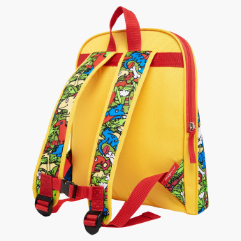 Zip and Zoe Printed Midi Backpack - 13x12x4 inches
