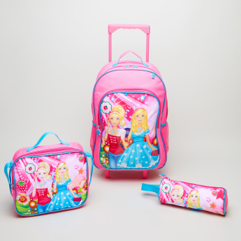 Juniors 3-Piece Printed Trolley Bag Set - 16 inches